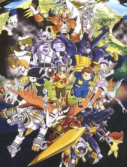 Digimon Saison 4 [Digimon Frontier] affiche